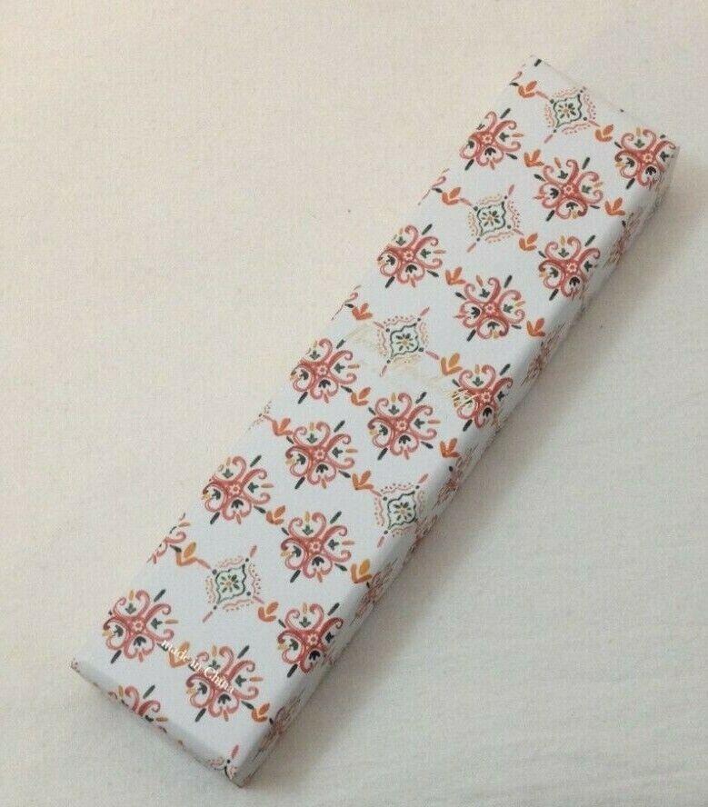 NIB Anthropologie Rosie Harbottle Quincy Ballpoint Pen Orange Floral - $9.99