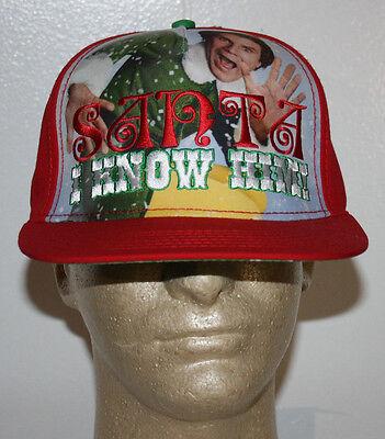Elf Movie Will Ferrell Christmas Santa I Know Him Snapback Hat Cap (Elf Cap)