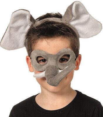 ren NEU - Karneval Fasching Maske Gesicht (Elefant Maske)