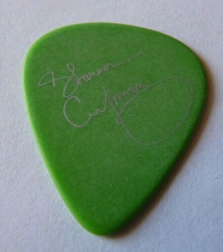 Shannon Curfman Vintage Rare Green Concert Tour Issued Guitar Pick