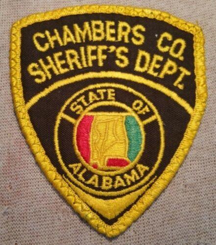 AL Chambers County Alabama Sheriff Patch