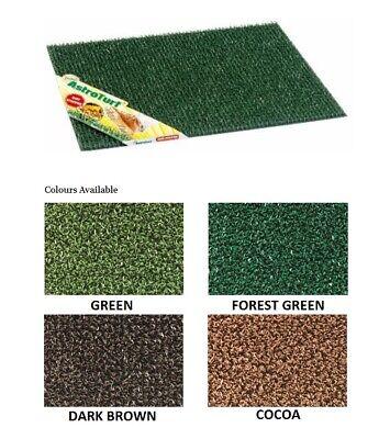 Bruce Starke Astro Turf - 40 x 70 cm - Green, Cocoa, Dark Brown and Forest Green Dark Brown Forest Green
