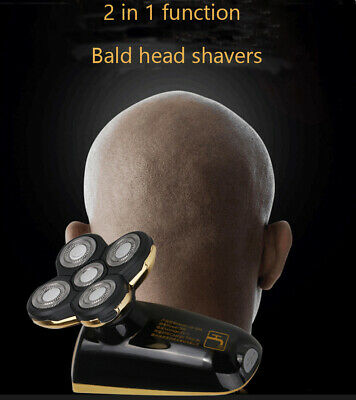 Best Bald Head Shavers Smart Smooth skull head shaver Cordless 5 head