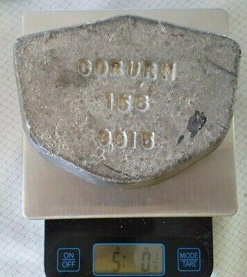 158f Low Melt Fusible Casting Alloy 5lbs Ingot Cerrolow Bolton Bend Metal