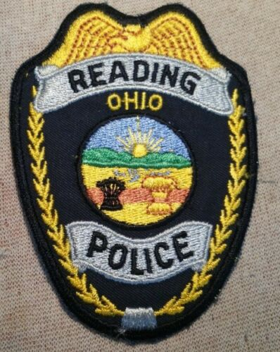 OH Reading Ohio Police Patch