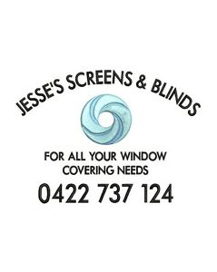 ** JESSE'S SCREENS & BLINDS ** Thornlands Redland Area Preview