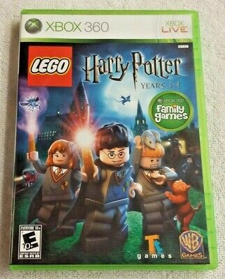 LEGO Harry Potter: Years 1-4 (Microsoft Xbox 360, 2010) Complete game Tested