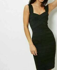 Brand new black bandage dress