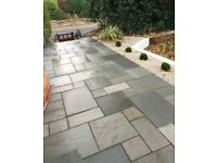 LANDSCAPING Driveways Flagging fencing turfing Indian stone services wood decking paving tree surgeo
