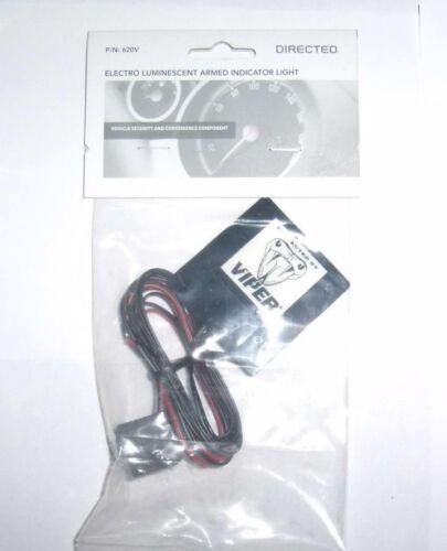 Directed DEI 620V Elecro Luminescent Armed Indicator Alarm Light Python Viper
