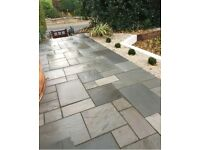 Paving Flagging fencing turfing decking indain stone slabs driveways gates manchester free qoutes