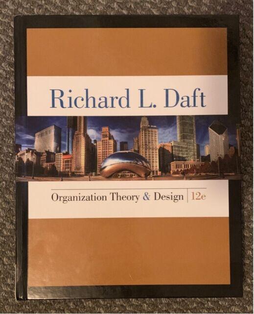 Organization Theory Design 12 Edition Daft Textbooks Gumtree Australia Ballarat City Wendouree 1249907288
