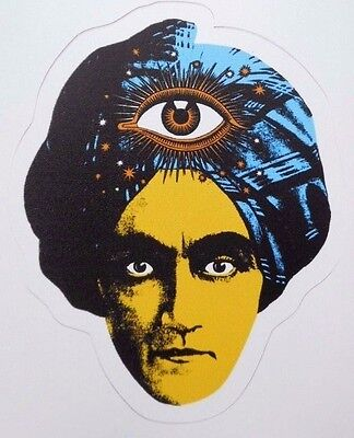 Great Jambi Swami Sticker/ Decal Third Eye Fortune Teller New