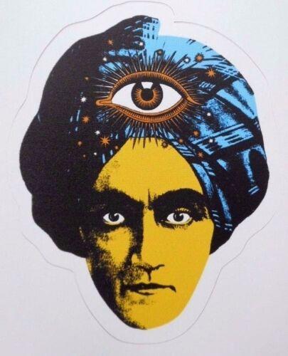 Great Jambi Swami Sticker/ Decal Third Eye Fortune Teller New