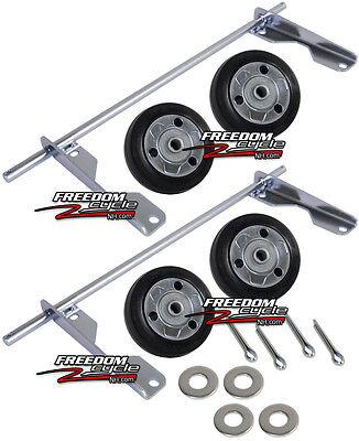 Honda Eu3000is Eu3000 Eu 3000 Generator 4 Wheel Kit Wheels Dollie 06423-zs9-t30