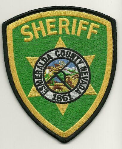 Esmeralda County Sheriff State Nevada NV Colorful