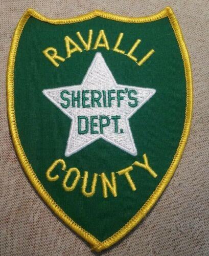 MT Ravalli County Montana Sheriff Patch