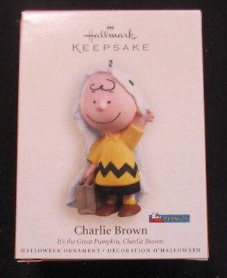 Hallmark 2006 Charlie Brown It's the Great Pumpkin Charlie Brown Halloween New (It's Halloween Pumpkin)