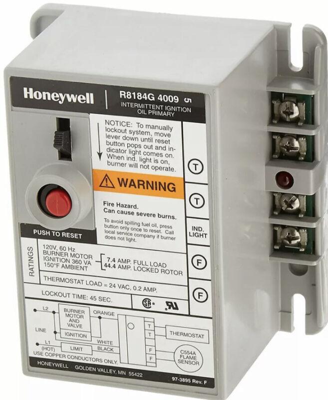 Honeywell R8184G4009 International Oil Burner Control