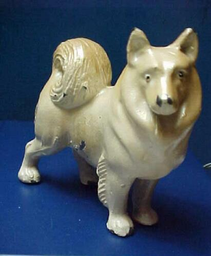 Vintage heavy Dog Figurine Chow Chow