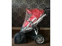 Red Quinny Buggy