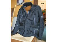 Richa textile motorcycle jacket AS NEW