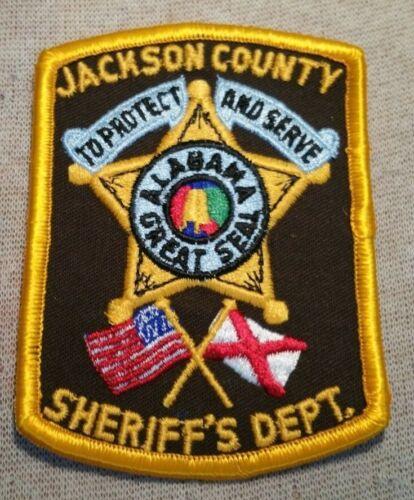 AL Jackson County Alabama Sheriff Patch