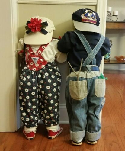 Time Out Dolls / Kids In A Corner / Hide And Seek Boy & Girl Toddler