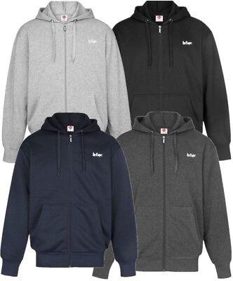 ✅ LEE COOPER Sweatjacke Kapuze Herren Sweater Sweatshirt Hoody Pullover Pulli Schwarz Logo Hoody