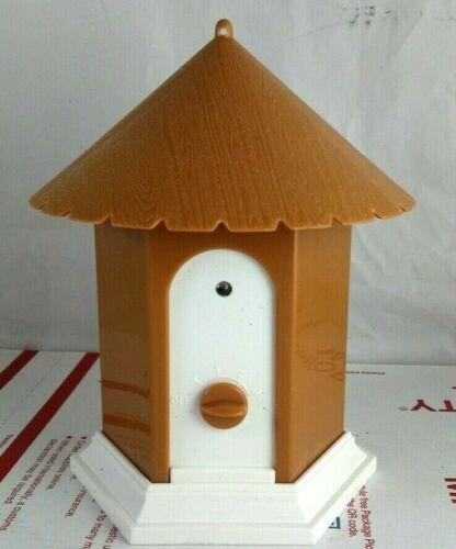 Ultrasonic Anti Dog Bark Control Birdhouse Device Stop Barking Outdoor Pet