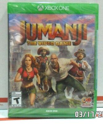 Jumanji The Video Game Xbox One Adventure Game Brand New Sealed