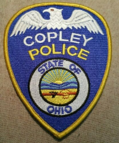 OH Copley Ohio Police Patch
