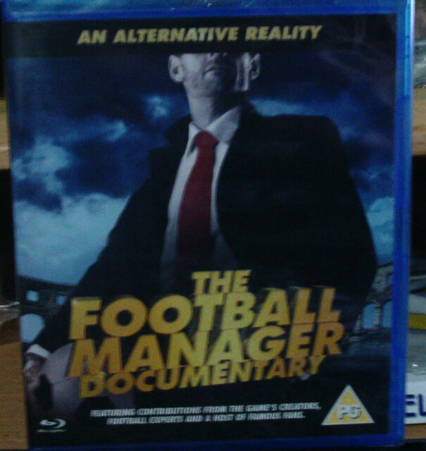 An Alternative Reality: The Football Manager Documentary (Blu-Ray) New  Sealed