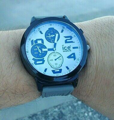 ice watch brand, chrono homage watch, sporty, big, fashion, FREE SHIPPING!!