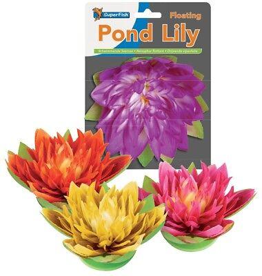 Pond Lily, schwimmende Seerose, künstlich, dekorativ, Teich