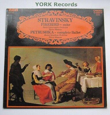 CCV 5034 - STRAVINSKY - Firebird Suite / Petrushka MONTEUX - Ex Con LP Record