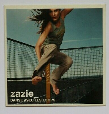 ZAZIE :  DANSE AVEC LES LOOPS (PILOT REMIX)  ♦ Promo CD Single ♦