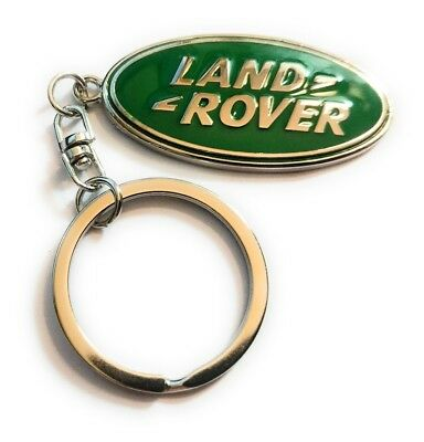(Land Rover Logo Keychain Key chain Trucks  Classic Landrover Jaguar   USA1)
