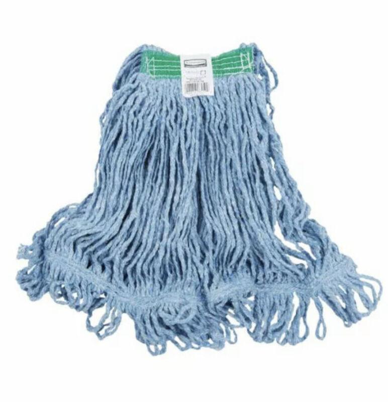 "Rubbermaid D21206BL00 Stitch Wet Mop Head 1"" Headband in Blue"