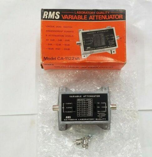 RMS CA-1122VA Laboratory Quality Variable Attenuator