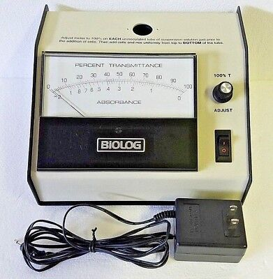 Biolog 21907 Turbidity Meter Nephelometer With Power Adapter