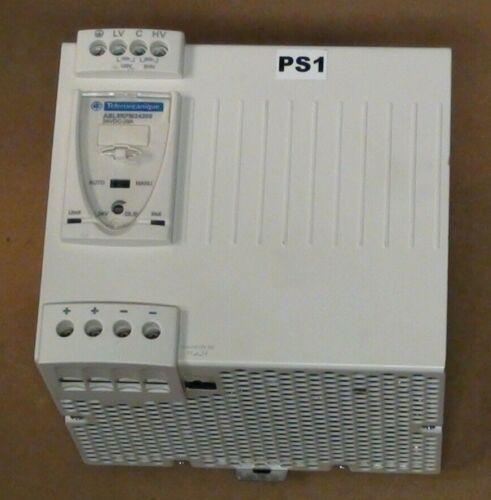 Telemecanique ABL8RPM24200 POWER SUPPLY 24VDC 20A