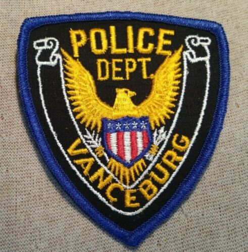 KY Vanceburg Kentucky Police Patch