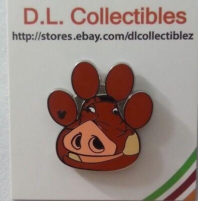 - Disney Lion King Hidden Mickey Paw Prints Pumbaa Pin