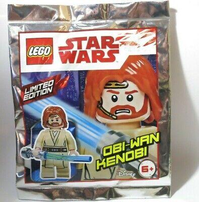 NEW Obi-Wan Kenobi 911839 75191 Headset Star Wars LEGO Minifigure