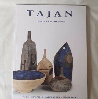 TAJAN CATALOGUE MOD DESIGN & ARCHITECTURE NOV18 ANDRE BORDERIE GAROUSE +