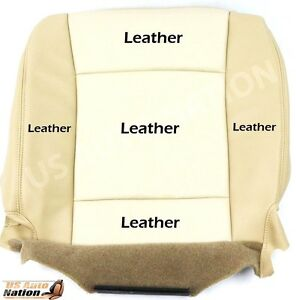 2006 2007 2008 Ford Explorer Eddie Bauer Driver Bottom Leather Seat Cover Tan