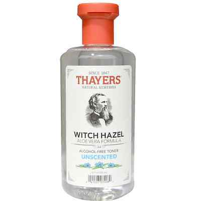 Thayers, Alcohol Free Unscented Witch Hazel Toner with Aloe Vera, 355 ml