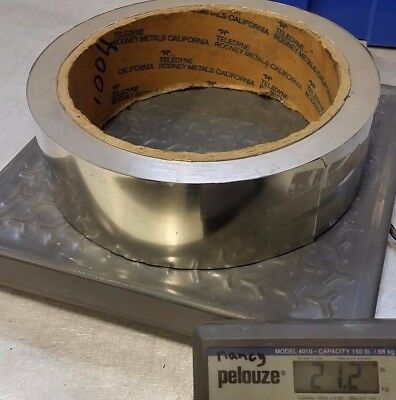Stainless Steel Shim .004 Thick 3 Wide 20 Lbs Sheet Strip Shim Stock Teledyne