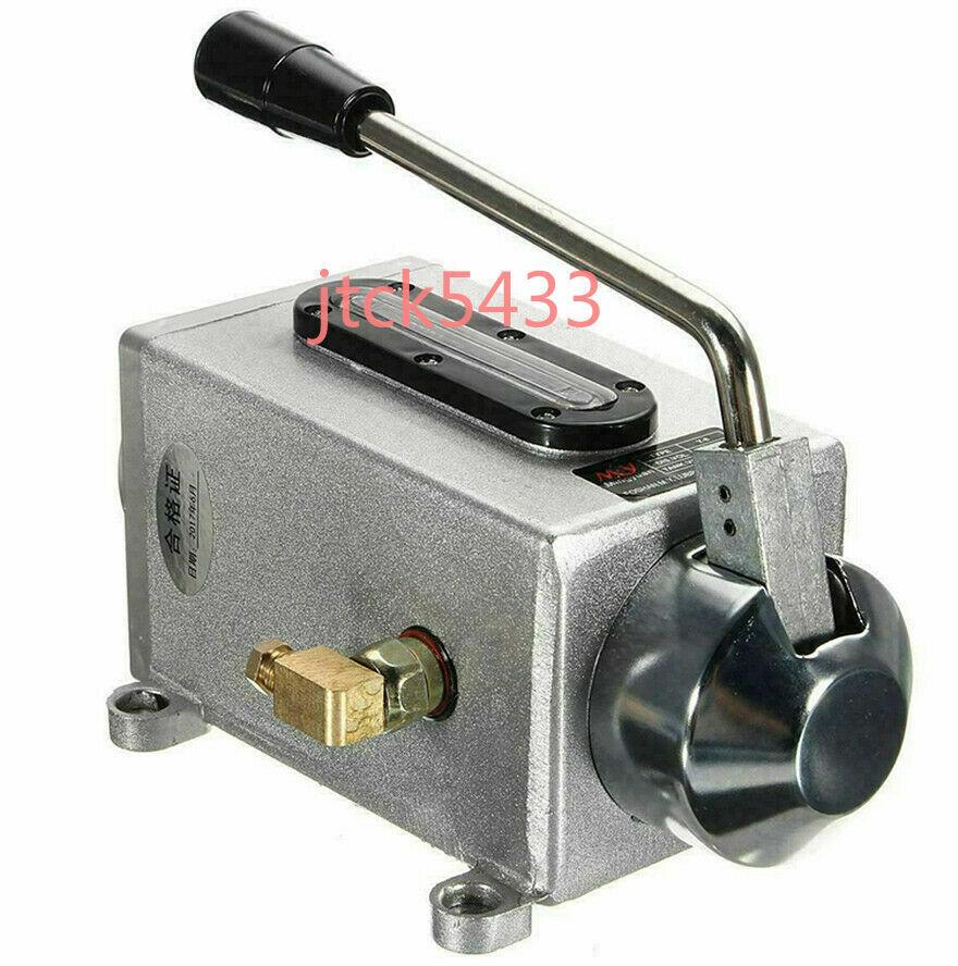 4MM 1SET Bridgeport Milling Machines Y-8 Manual Hand Pump Oiler One Oil Lube